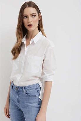 Witchery Self Stripe Shirt