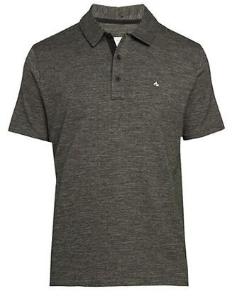 Rag & Bone Cotton-Blend Polo T-Shirt