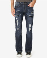 Buffalo David Bitton Men's KING-X Bootcut Ripped Jeans