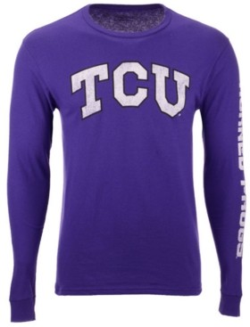 Colosseum Men's Tcu Horned Frogs Midsize Slogan Long Sleeve T-Shirt