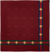 Gucci Men's Runebis Silk Pocket Square