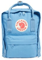 Fjäll Räven 'Mini Kanken' Water Resistant Backpack - Blue