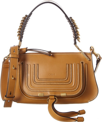 Chloé Marcie Baguette Small Leather Shoulder Bag