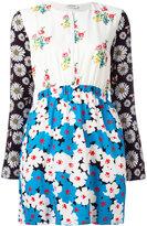 Au Jour Le Jour floral print shirt dress - women - Polyamide/Polyester/Spandex/Elastane/Viscose - 42
