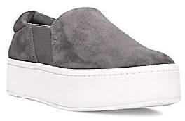 Vince Women's Warren Slip-On Platform Suede Sneakers