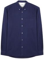 Acne Studios Isherwood Navy Brushed Cotton Shirt