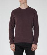 Reiss Fenton Brushed Cotton Sweatshirt