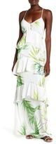 Natori Orchid Print Dress