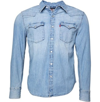 Levi's Barstow Western L/s Shirt Red Cast Stone