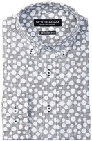 Nick Graham Reverse Dot Modern Fit Dress Shirt