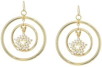 Vanessa Mooney The Atlas Star Earrings (Gold) Earring