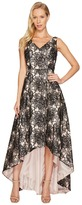 Calvin Klein Sequin Flower Print Embroidery High-Low Gown CD7BC07L Women's Dress