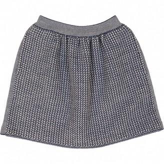 Balenciaga Blue Wool Skirts