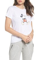 David Lerner Women's Whistle High/low Graphic Tee