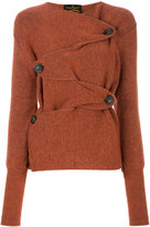 Vivienne Westwood wicked rust cardigan