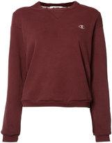 "RE/DONE Crewneck ""C"" logo sweater"