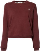 RE/DONE logo-embroidered sweatshirt - women - Polyester/cotton - M/L