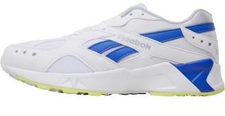 Reebok Classics Aztrek Trainers White/Cold Grey/Crushed Cobalt/Neon