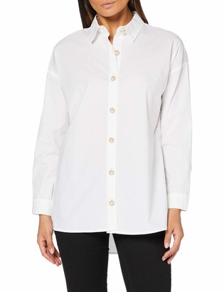 Only Women's ONLIDAHO Life Oversize L/S DNM Shirt Blouse