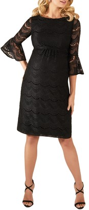 Tiffany Rose Jane Lace Maternity Cocktail Dress