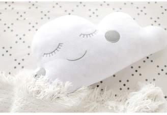 My Baby Sam Cloudy Gray Throw Pillow Bedding