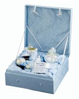 Kurt Adler Noble Gems Collection Boy's Ornament Set- 4 Piece