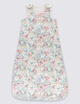 Marks and Spencer Pure Cotton Floral 2.2 Tog Sleeping Bag