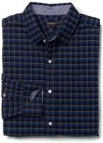 J.Mclaughlin Gramercy Classic Fit Flannel Shirt in Plaid