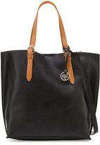 Linea Pelle East-West Buckle Tote Bag, Black