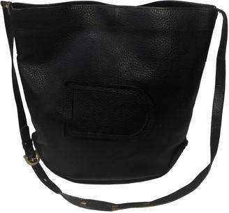 Delvaux Pin Black Leather Handbags