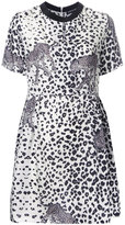 Markus Lupfer leopard print dress - women - Silk - S