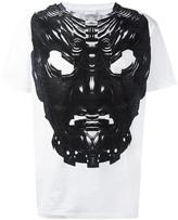 Marcelo Burlon County of Milan mask print T-shirt - men - Cotton - XXS