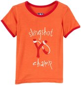 Kickee Pants Piece Print Tee (Baby) - Slingshot Champ-6-12 Months