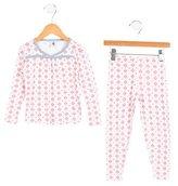 Petit Bateau Girls' Two-Piece Pajama Set