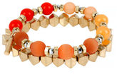 Kenneth Cole New York Citrus Slice Mixed Bead Stretch Bracelet Set