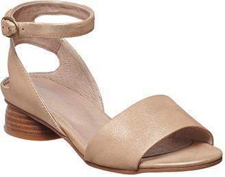 Antelope Women's Sandals Gold - Gold Metallic Ankle-Buckle Leather Sandal - Women