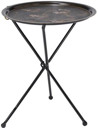 OKA Treppiedi Folding Table - Black