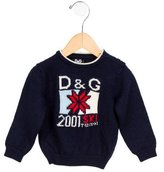Dolce & Gabbana Boys' Intarsia Wool Sweater