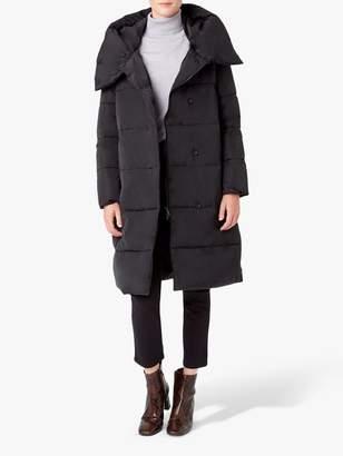 Hobbs Heather Puffer Coat, Black