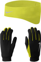 Nike Running Thermal Headband and Gloves Set