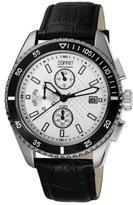 Esprit ES102491002 - Men's Watch, Watch Band Leather Black Tone