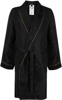 Versace Jacquard Silk Robe