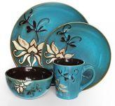American Atelier Mirabel Blue 16-pc. Dinnerware Set