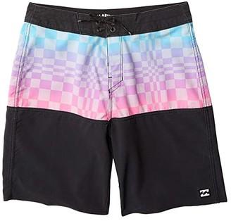 Billabong Kids Fifty50 Pro Swim Shorts (Big Kids) (Stealth) Boy's Swimwear
