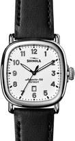 Shinola Guardian Leather Strap Watch, 41Mm