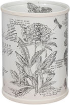 Creative Bath Creative BathTM Sketchbook Botanical Toile Wastebasket