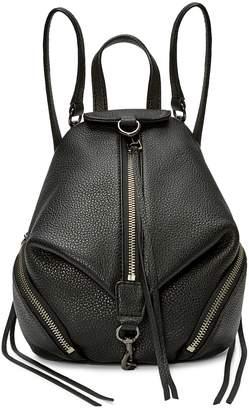 Rebecca Minkoff Mini Convertible Leather Backpack