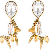 Assad Mounser Crystal Drop Earrings