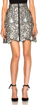 Self-Portrait Poppy Mini Skirt
