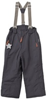 Mini A Ture Witte Ski Pants with Removable Braces